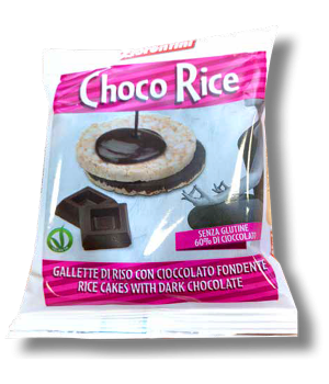 Choco Rice Gallette Riso Cioccolato Fondente Th